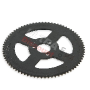 76 Tooth Reinforced Rear Sprocket (small pitch)