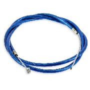 Custom Rear Brake Cable - Blue