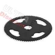 80 Tooth Reinforced Rear Sprocket (small pitch)