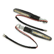 LED stripes Turn Signal Set for Scooter Spare Parts