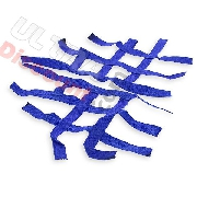 Pair of Foot Rest nets blue for Shineray 250STXE