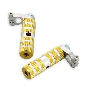 Aluminum Foot Pegs - TAF02 - Gold