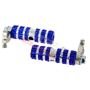 Aluminum Foot Pegs - TAF02 - Blue