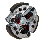 Special Zocchi 3-shoe Carbon Clutch for Pocket Bike MTA4