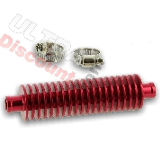 Additional Radiator for Pocket Bike ZPF - Red