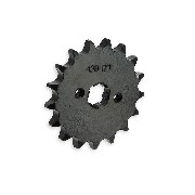 17 Tooth Front Sprocket for ACE 50cc ~ 125cc (428)