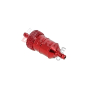 High Quality Removable Fuel Filter (type 2) - Red