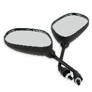 Pair of mirrors for Baotian Scooter BT49QT-11 - type4