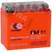 Gel Battery for Baotian Scooter BT49QT-7 (113x70x110)