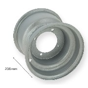 Rear Rim for ATV Bashan Quad 200cc (BS200S-3)