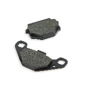 Rear Brake Pads for ATV Bashan Quad 200cc (type 2)