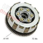 Clutch for ATV Bashan Quad 250cc (BS250S-11B)