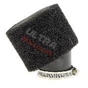 Dual Layer Foam Air Filter - 44mm - Black