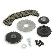 Cam chain set 50cc for Bubbly Skyteam