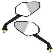 Pair of mirrors for Shineray ATV 250 STIXE ST9E