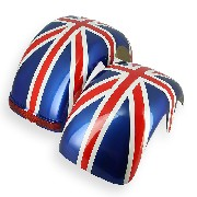 Rear mudguards for CityCoco - Union Jack