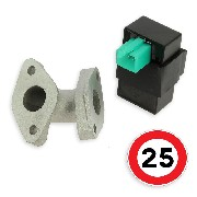 Speed Limit Kit 25Kmh for Skyteam Bubbly 50cc