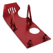 Belly Pan for Dirt Bike - Red