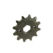 12 Tooth Front Sprocket (520 : Ø:20mm) Shineray 200STIIE and STIIEB