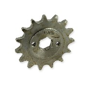 Duty 15 Tooth Front Sprocket (520 : Ø20mm)  for Shineray ATV 200STIIE and STIIEB