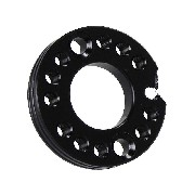 Carburetor Spinner Plate for PBR 110cc and 125cc (Black, 26mm)