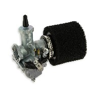 Mikuni 30mm Carburetor + Air Filter (Black) for PBR