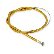 Front Brake Cable 50cm, (Gold) for Racing ZPF