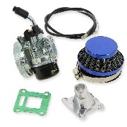 Carburetor 15 Kit for Pocket dirt (Blue)