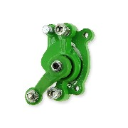 Rear Brake Caliper green for ZPF Pocket Bike Racing Parts