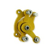 Front Brake Caliper color yellow for ZPF Pocket Bike Racing Parts