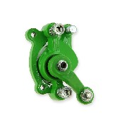 Front Brake Caliper color green for ZPF Pocket Bike Racing Parts
