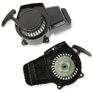 Quick Start Recoil Starter black plastic for Pocket Bike (type 2)