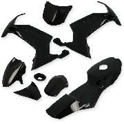 Fairing for Pocket Bike MT4 - Bllack