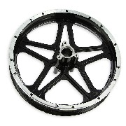 Rear Rim black for Cross Pocket Bike (10'', type 1)