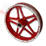 Front Rim red for Cross Pocket Bike (10'', type 1)