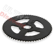 64 Tooth Reinforced Rear Sprocket for Large Chain 3T - TF8 (type 1)