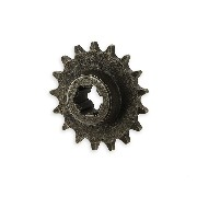 17 Tooth Front Sprocket for Cross Pocket Bike