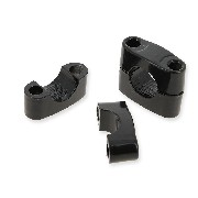 Handlebar Clamp for ATV Quad Shineray 200 STIXE ST9E (Black)
