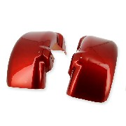 Front mudguard for ATV 250cc F1 red