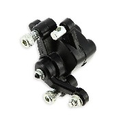 Rear brake caliper for electric quad