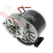 motor 24V 350W MY1016Z3 for electric quad
