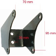 Engine Bracket for ATV JYG Quad 200cc
