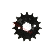 15 Tooth Front Sprocket for ATV Quad 200cc