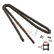 72 Links Reinforced Drive Chain for Pocket Bike (small pitch)