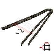 83 Links Reinforced Drive Chain for Pocket Bike (small pitch)