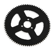 76 Tooth Reinforced Rear Sprocket for Pocket Bike