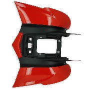 Rear Fairing for ATV Shineray Quad 250cc ST-9E (RED-BLACK)