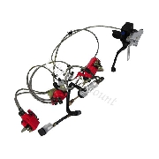 Complete Hydraulic Brake System for ATV Shineray 350cc (XY350ST-E)