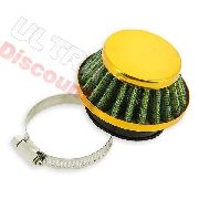 Racing Air Filter for Pocket Bike Supermoto - Gold