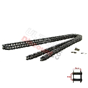 70 Large Links Reinforced Drive Chain for Pocket Bike - TF8